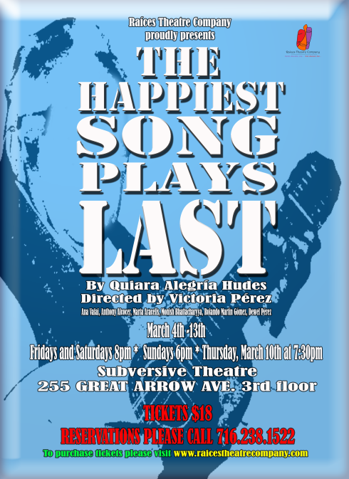 OFFICIAL HAPPIEST SONG PLAYS LAST POSTER