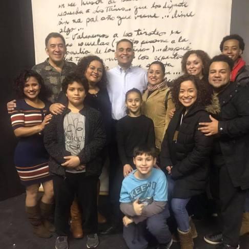Cast of Desde el Puente Christmas Edition 2017